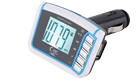 "OEM 1.44"" inch LCD Wireless FM Transmitter Car MP3 Player"