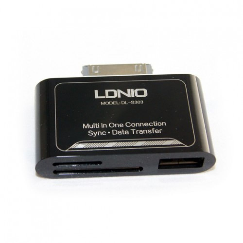 LDNIO DL-P303 Card Reader + USB port-14207
