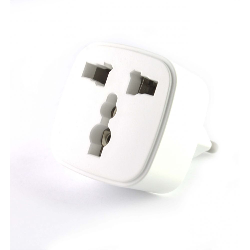 LDINIO Adapter UK - US to EU schoko, Universal, White - 14242
