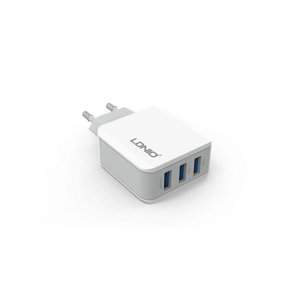 LDNIO A3301, 5V 3.1A, Universal Network charger,3xUSB, without cable, White - 14369