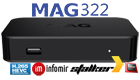 MAG 322 IPTV SET-TOP BOX HEVC