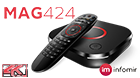 MAG424 UHD IPTV set-top box with 4K support