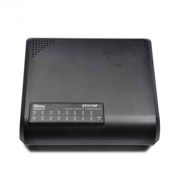 NETIS ST-3116P 16-port Fast Port Ethernet Switch