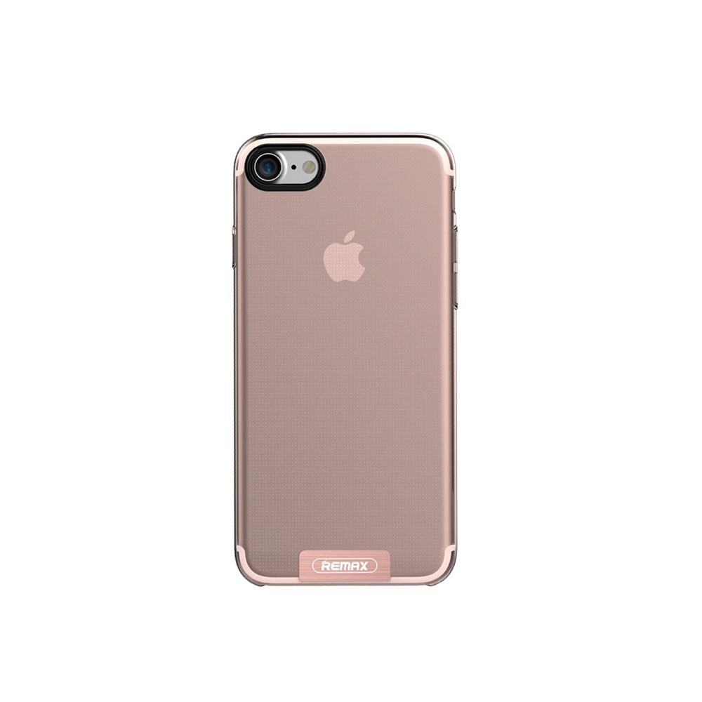 Remax Sain, Protector for iPhone 7/7S, TPU, Pink - 51451