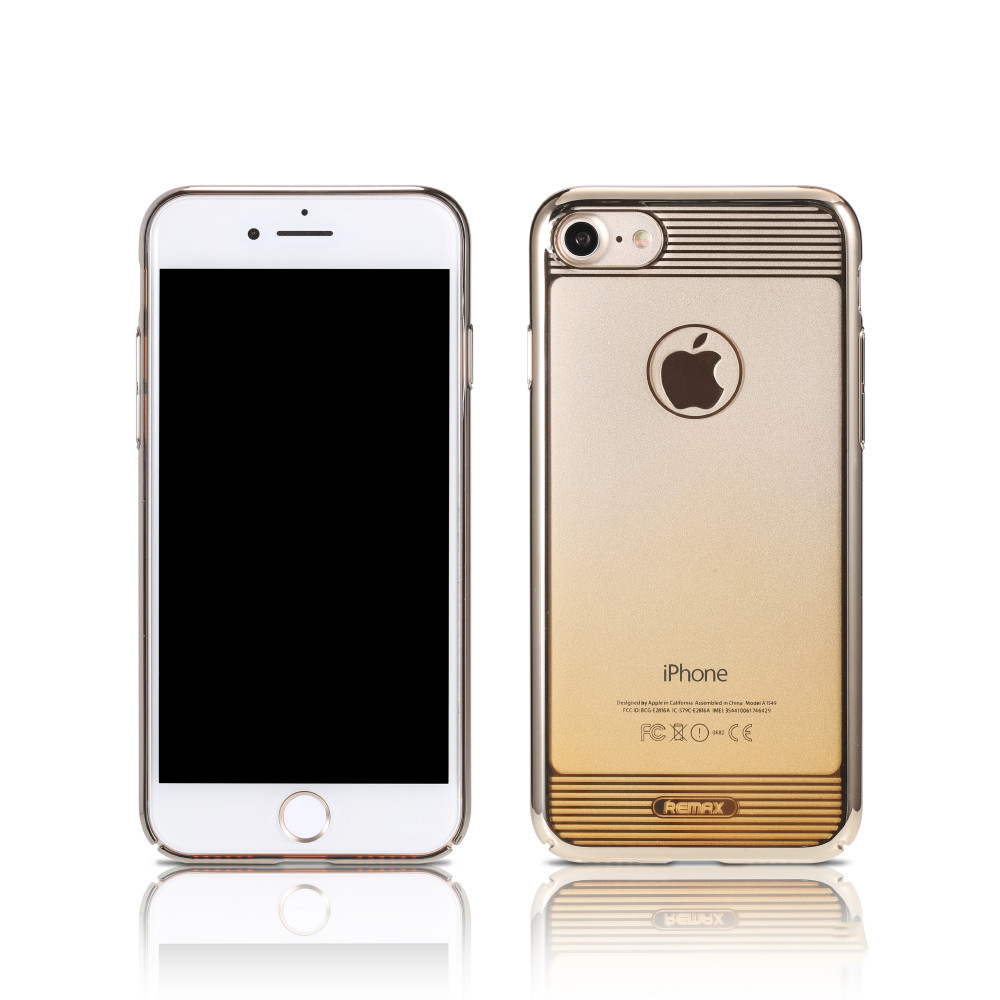 Remax Nora, Protector for iPhone 7/7S, TPU, Gold - 51444