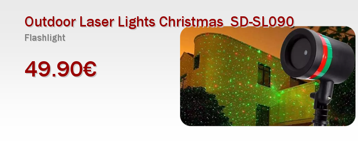 Outdoor Laser Lights Christmas  SD-SL090