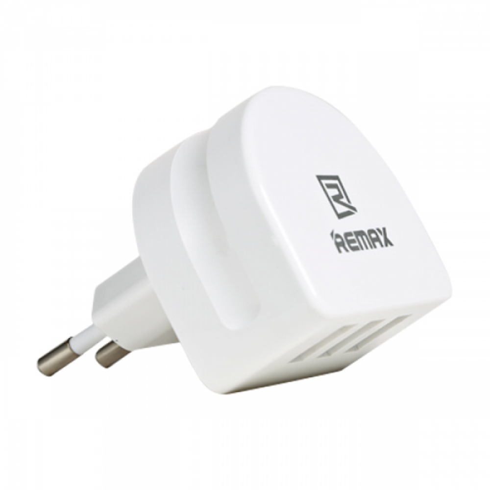 Remax Moon RP-U31, 5V/3.1A, Universal Network charger,3 x USB, White - 14410