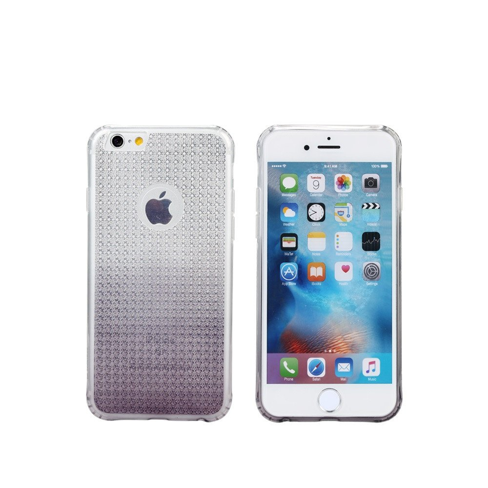 Remax Bright Gradient Protector for iPhone 6/6S , TPU, Slim, Purple - 51409