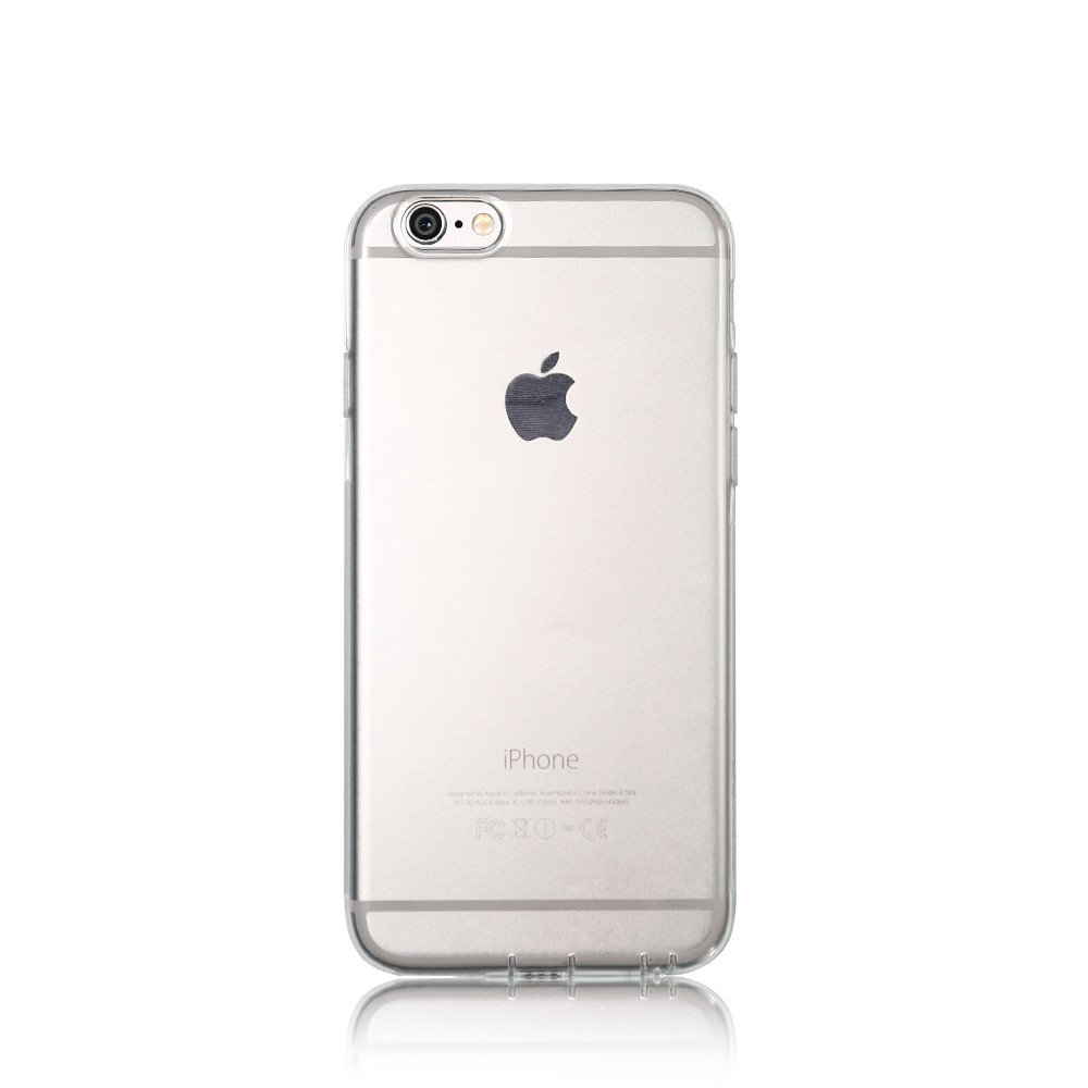 Remax Crystal, Protector for iPhone 6/6S, TPU, Slim, Transparent - 51431