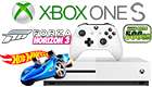 Microsoft Xbox One S 500GB console bundle Forza Horizon + DLC Hot Wheels
